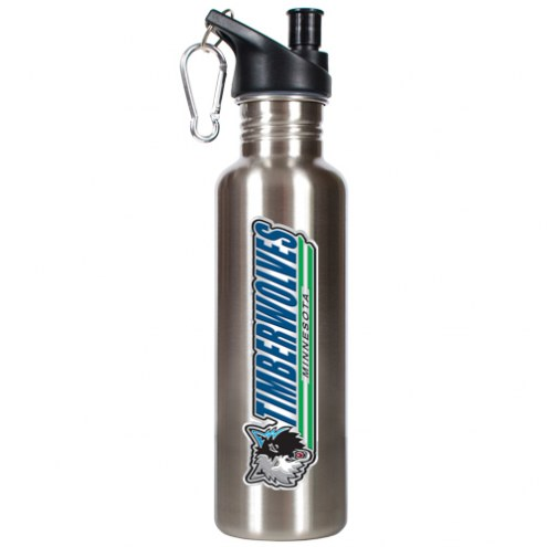 Minnesota Timberwolves 26 oz. Water Bottle with Pop-Up Spout