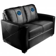 Minnesota Timberwolves XZipit Silver Loveseat with Secondary Logo