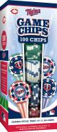 Minnesota Twins 100 Piece Poker Chips