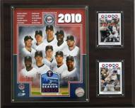 "Minnesota Twins 12"" x 15"" 2010 Team Plaque"