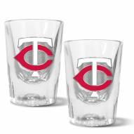 Minnesota Twins 2 oz. Prism Shot Glass Set