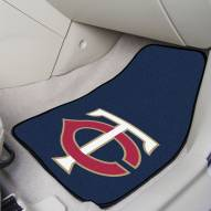Minnesota Twins 2-Piece Carpet Car Mats