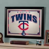 """Minnesota Twins 23"""" x 18"""" Mirror"""