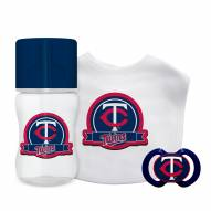 Minnesota Twins 3-Piece Baby Gift Set