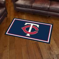 Minnesota Twins 3' x 5' Area Rug