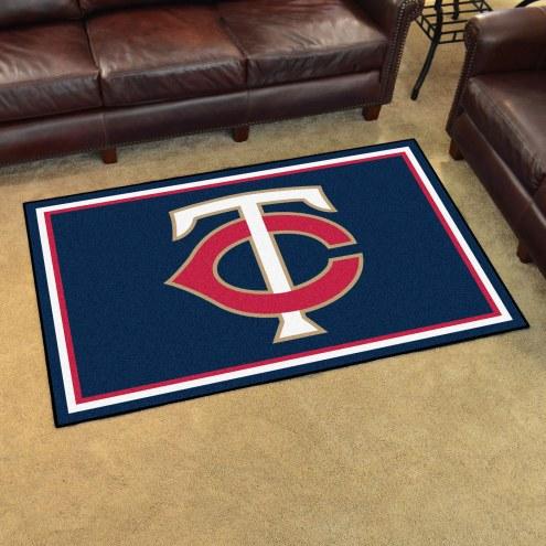 Minnesota Twins 4' x 6' Area Rug