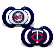 Minnesota Twins Baby Pacifier 2-Pack
