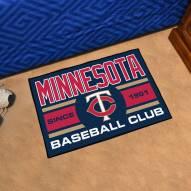 Minnesota Twins Baseball Club Starter Rug