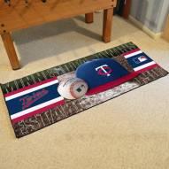 Minnesota Twins Baseball Runner Rug