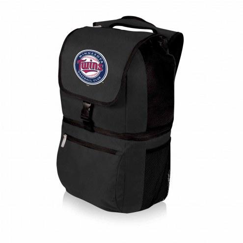 Minnesota Twins Black Zuma Cooler Backpack