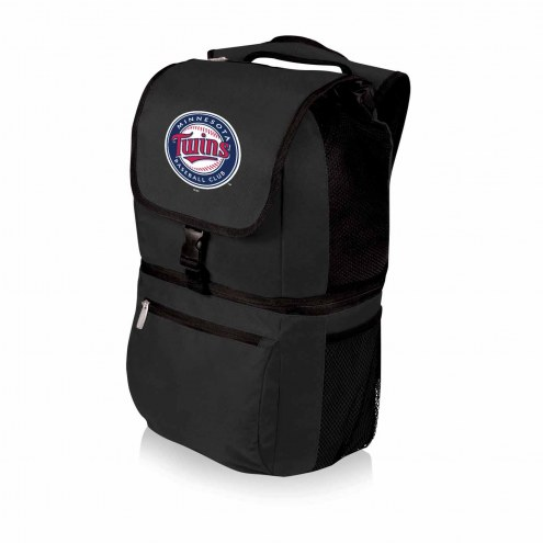 Minnesota Twins Black Zuma Cooler Backpack
