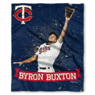 Minnesota Twins Byron Buxton Silk Touch Blanket