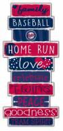 Minnesota Twins Celebrations Stack Sign