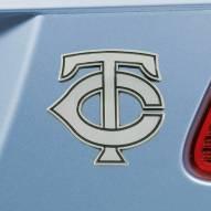 Minnesota Twins Chrome Metal Car Emblem