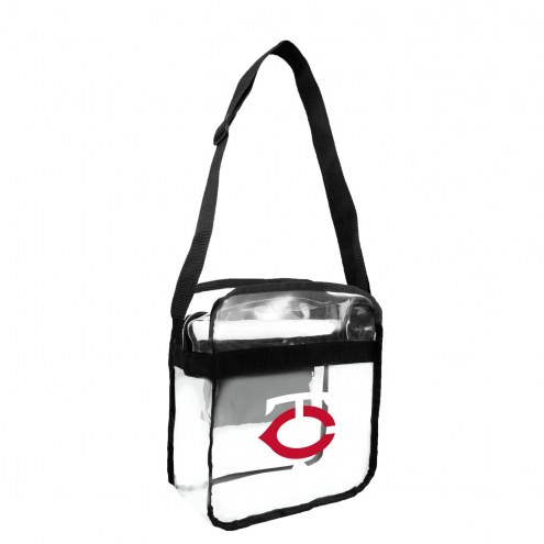 Minnesota Twins Clear Crossbody Carry-All Bag