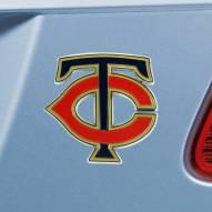 Minnesota Twins Color Car Emblem