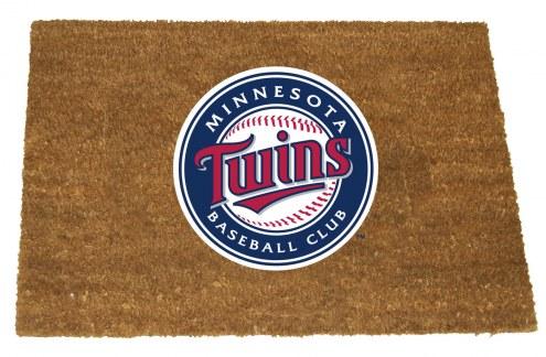 Minnesota Twins Colored Logo Door Mat