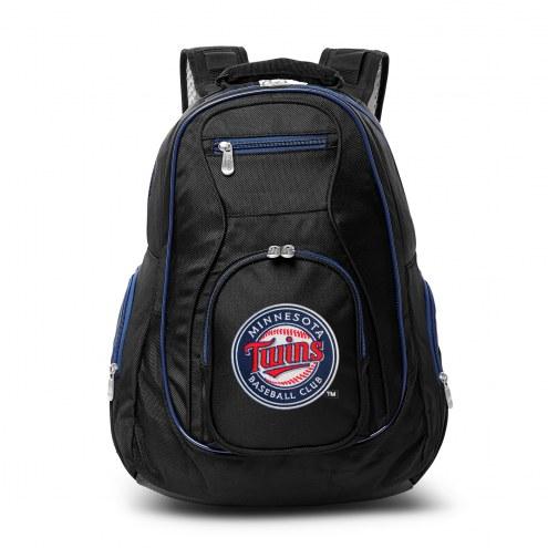 MLB Minnesota Twins Colored Trim Premium Laptop Backpack