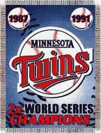 Minnesota Twins Commemorative Throw Blanket