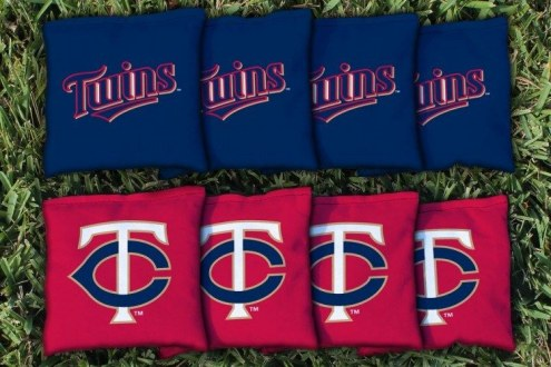 Minnesota Twins Cornhole Bag Set