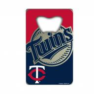 Minnesota Twins Credit Card Style Bottle Opener