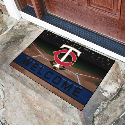 Minnesota Twins Crumb Rubber Door Mat
