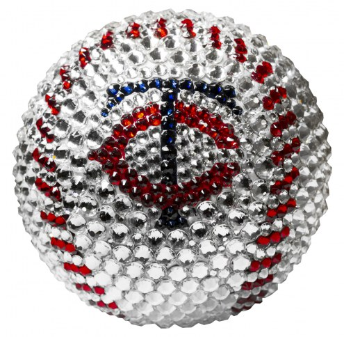 Minnesota Twins Swarovski Crystal Baseball
