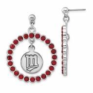Minnesota Twins Crystal Logo Wreath Earrings