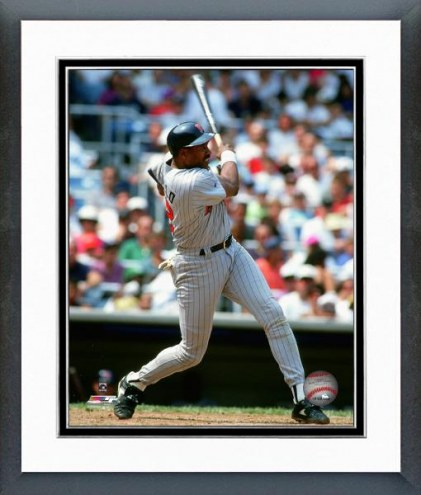 Minnesota Twins Dave Winfield 1993 Action Framed Photo