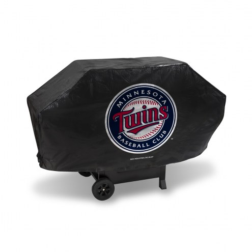Minnesota Twins Deluxe Padded Grill Cover