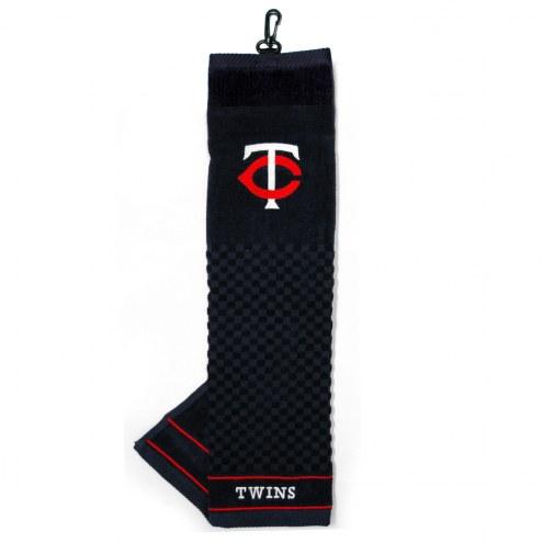 Minnesota Twins Embroidered Golf Towel