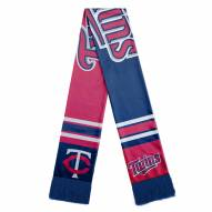Minnesota Twins Colorblock Big Logo Scarf