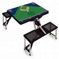 Minnesota Twins Folding Picnic Table