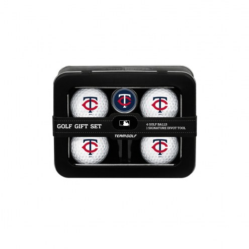 Minnesota Twins Golf Ball & Divot Tool Gift Set