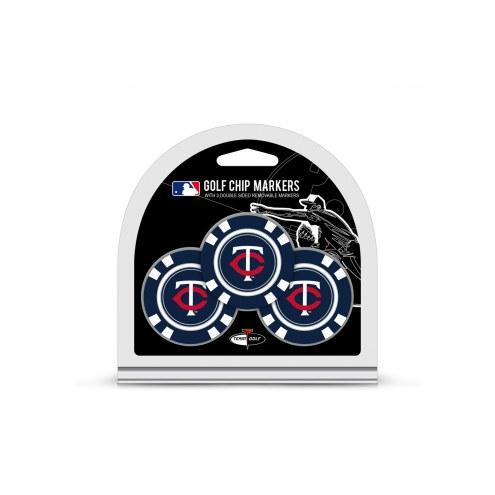 Minnesota Twins Golf Chip Ball Markers
