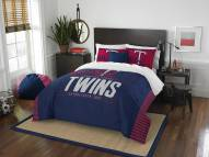 Minnesota Twins Grand Slam Full/Queen Comforter Set