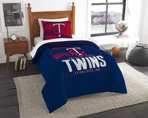 Minnesota Twins Grand Slam Twin Comforter Set
