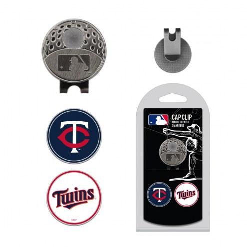 Minnesota Twins Hat Clip & Marker Set