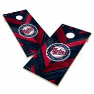 Minnesota Twins Herringbone Cornhole Game Set