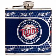 Minnesota Twins Hi-Def Stainless Steel Flask