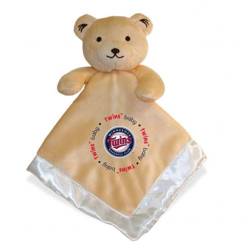 Minnesota Twins Infant Bear Security Blanket
