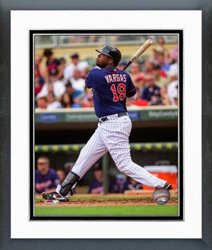 Minnesota Twins Kennys Vargas Action Framed Photo