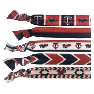Minnesota Twins Knotted Hair Tie