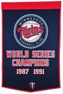 Minnesota Twins Major League Baseball Dynasty Banner
