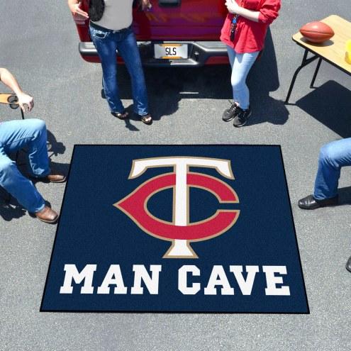 Minnesota Twins Man Cave Tailgate Mat