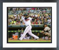 Minnesota Twins Miguel Sano 2015 Action Framed Photo