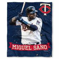 Minnesota Twins Miguel Sano Silk Touch Blanket