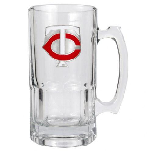 Minnesota Twins MLB 1 Liter Glass Macho Mug