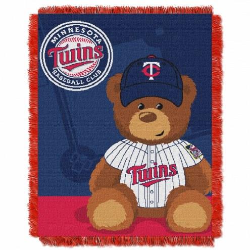 Minnesota Twins MLB Baby Blanket