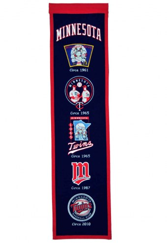 Minnesota Twins MLB Heritage Banner